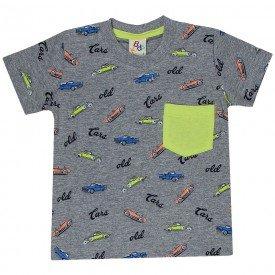 camiseta infantil masculina cars mescla 161013 9470 2