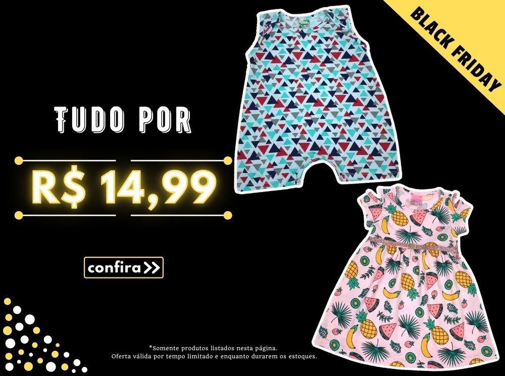Roupa Infantil por R$ 14,99