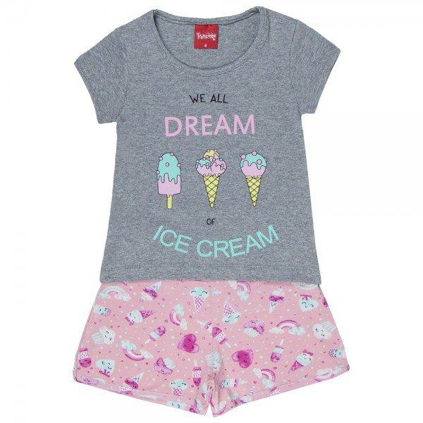 conjunto blusa mescla ice cream e short 4327 3914