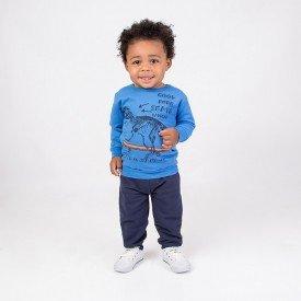 conjunto infantil masculino moletom azul palacio e calca marinho skate 4165d 8317 2