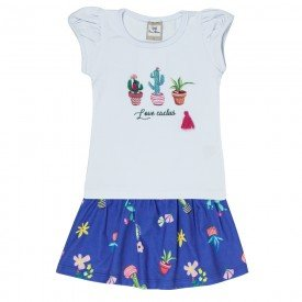 conjunto cotton love cactus branco 3353 00203