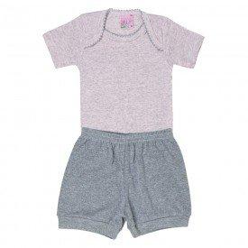 conjunto body rosa e short mescla 1327 6126