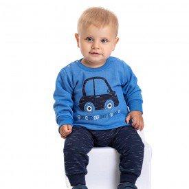 conjunto bebe masculino moletom the car e calca saruel azul palacio marinho 4875 9752