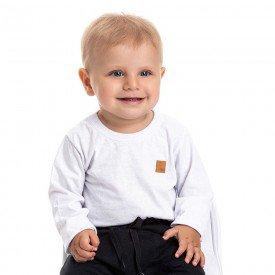 camiseta bebe masculina basica branca 4885 9775