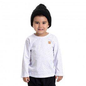 camiseta infantil masculina botone branca 4905 4921 9803