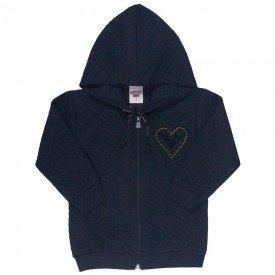 jaqueta infantil feminina matelasse preta 4823 9856