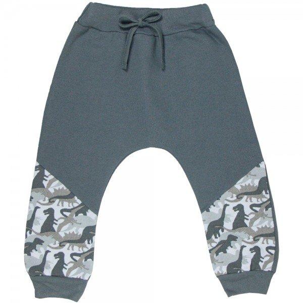 calca infantil masculina saruel dino chumbo 4899 9797
