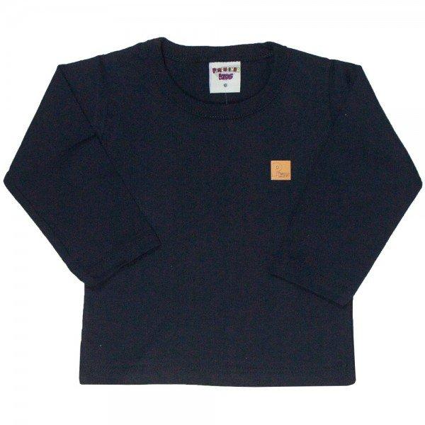 camiseta bebe masculina basica preta 4885 9776