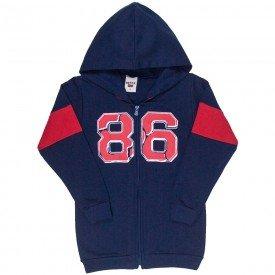jaqueta infantil masculina 86 moletom marinho 4918 9828