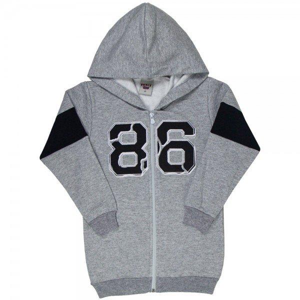 jaqueta infantil masculina 86 moletom mescla 4918 9827