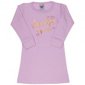 vestido infantil feminino molecotton lovely girl rosa claro 4853 9900