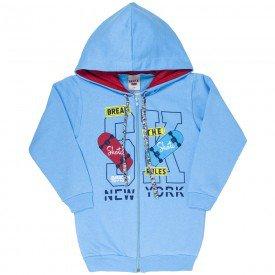 jaqueta infantil masculina skate moletom azul claro 4922 9831