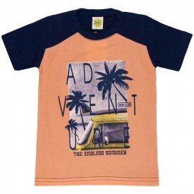 camiseta menino surf trip laranja 1669 3801