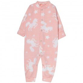 macacao bebe feminino unicornio soft rosa kw305 10044