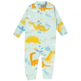 macacao infantil masculino dinossauro soft kw707 10045