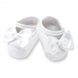 sapatilha sapameia festa branca para bebe antiderrrapante m1520 1 10063