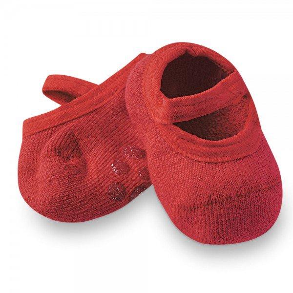 sapatilha sapameia bebe antiderrapante vermelho m1290 12 10073