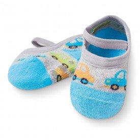 sapatilha sapameia bebe antiderrapante azul carrinhos m2290 258 10074