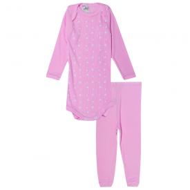 conjunto body e calca estrela rosa 115 116 10124a