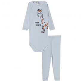conjunto body e calca girafa branco 115 116 10121a