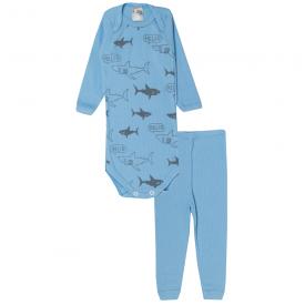 conjunto body e calca tubaroes azul 115 116 10117a