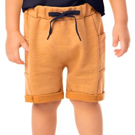 bermuda infantil masculina saruel moletinho fendi 2186 10334