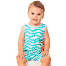 macaquinho bebe menino praia azul branco 8336 10321