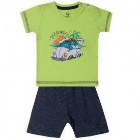 conjunto bebe menino fusca verde cinza 80103 10315