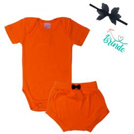 conjunto body e calcinha laranja faixa de brinde 1797 10162