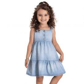 vestido infantil chambray claro 1279 10717