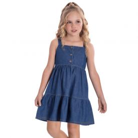 vestido infantil chambray medio 2275 10718