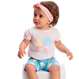 conjunto bebe menina sorvete rosa azul 1374 10433