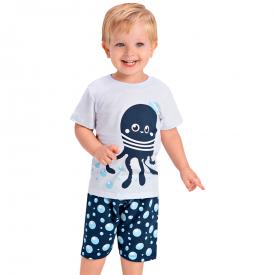 conjunto infantil menino polvo branco marinho 1428 10497