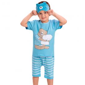 pijama infantil menino abraco azul 1453 10528