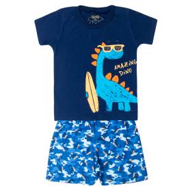 conjunto bebe menino amazing dino marinho 12166 10387