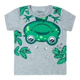 camiseta bebe menino sapinho mescla 12184 10402
