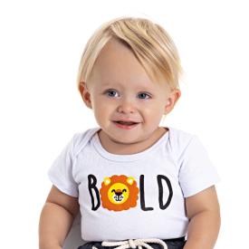 body bebe menino leao branco 5184 10571