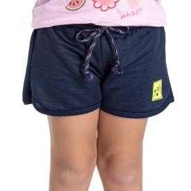 short infantil menina marinho 5157 10661