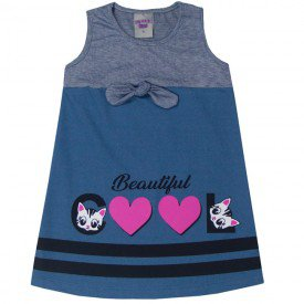 vestido infantil menina laco marinhoazul claro 5133 10646