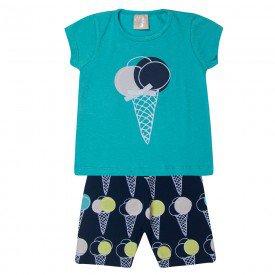 conjunto bebe menina sorvete verde aguamarinho 1374 10432 2