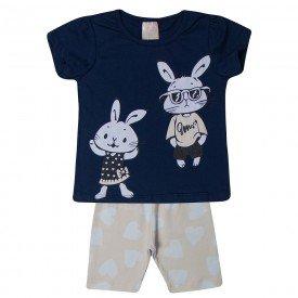 conjunto infantil menina coelhos marinhorosa 1391 10458