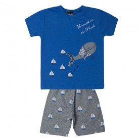 conjunto bebe menino veleiros azulmescla 1416 10481
