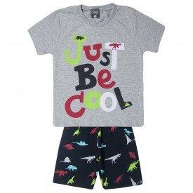 conjunto infantil menino just be cool mesclapreto 1444 10513
