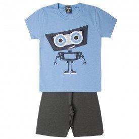conjunto infantil menino robo azulchumbo 1449 10519