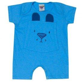 macaquinho bebe menino ursinho azul claro 5177 10560