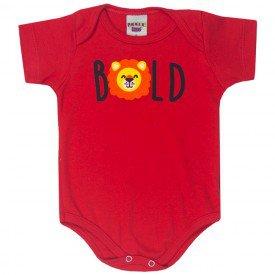 body bebe menino leao vermelho 5184 10572