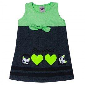 vestido infantil menina laco limapreto 5133 10647