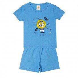 pijama infantil menino tigre azul 3202 10245
