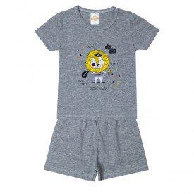 pijama infantil menino tigre mescla 3202 10244