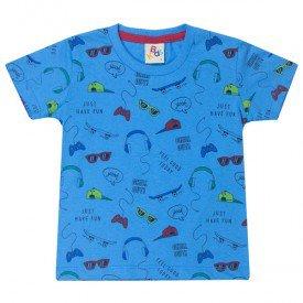 10743 camiseta infantil menino acessorios azul 191013
